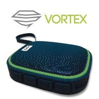 Bocina bluetooth waterproof GHIA negra/verde