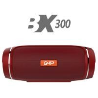 Bocina bluetooth BX300 GHIA Roja Aux /Radio/SD Card/USB