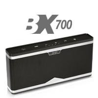 Bocina bluetooth BX700 GHIA negra Aux/Radio/SD Card/USB