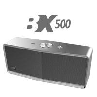 Bocina bluetootH BX500G GHIA gris Aux/Radio/SD Card/USB
