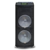 "Bafle amplificado GHIA recargable 12"" 24000W BT/ USB/ Micro SD/AUX"