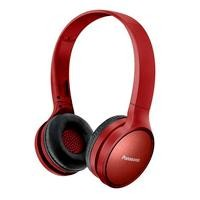 Audifonos bluetooth tipo diadema (ON-EAR) Panasonic RP-HF410BPUA rojo