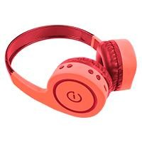 Audifonos on-ear inalámbricos BT/FM/SD 3.5MM Easy Line-Perfect choice coral