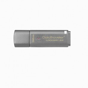 Memoria Kingston 32GB USB Locker G3 gris