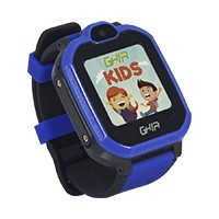 "GHIA Smart Watch Kids 4G azul-negro 1.44""/linterna/cámara"