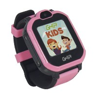 "GHIA Smart Watch Kids 4G rosa-negro/ 1.44"" linterna/cámara"