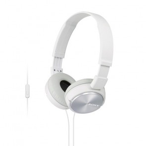 Audifonos Diadema Sony ZX-310 blanco manos libres 3.5 MM